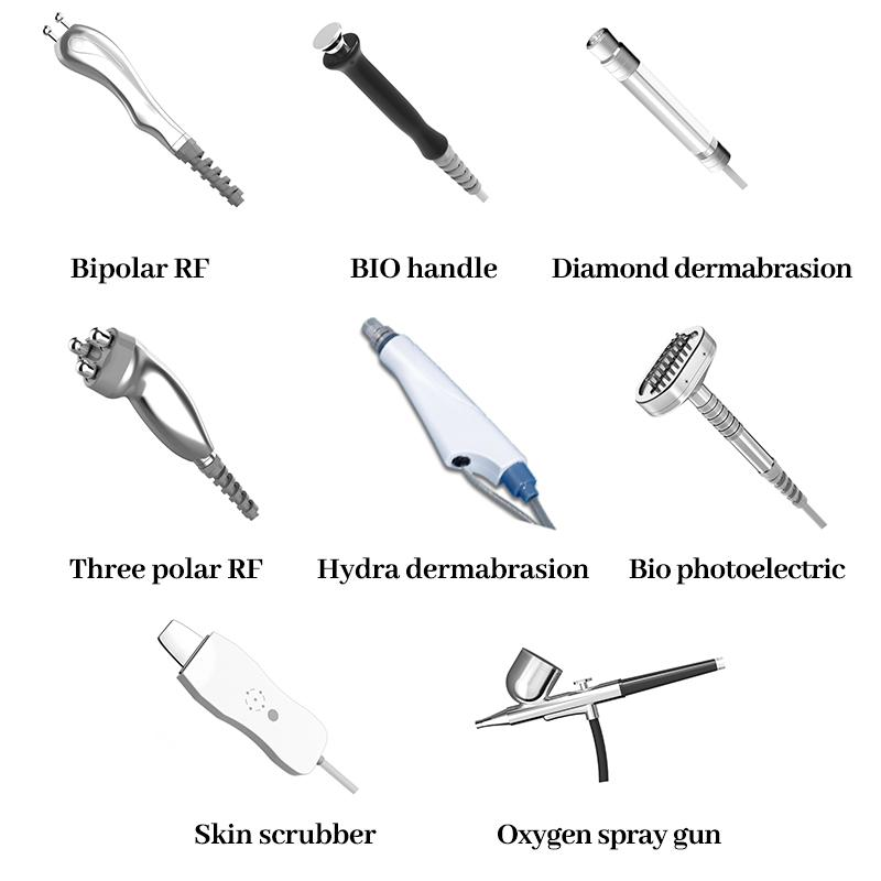 10 in 1 hydra facial water dermabrasion face deep cleansing machine for skin rejuvenation