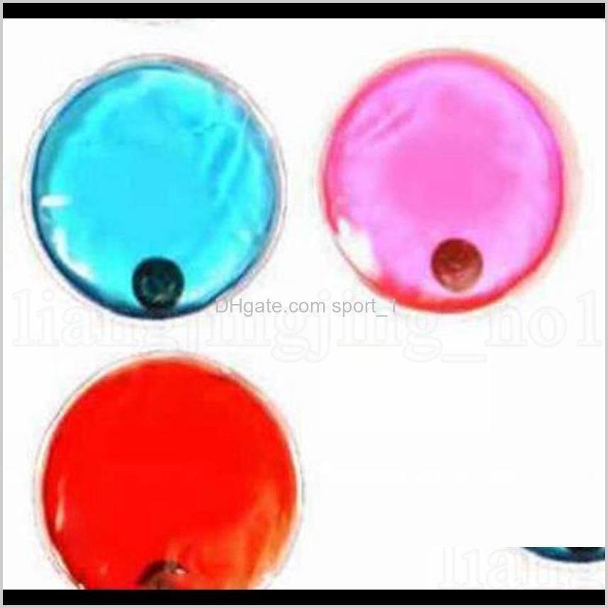 hand warmer bag pvc self heating reusable round shaped 10*10cm heat packs novelty items 2000pcs ooa7081