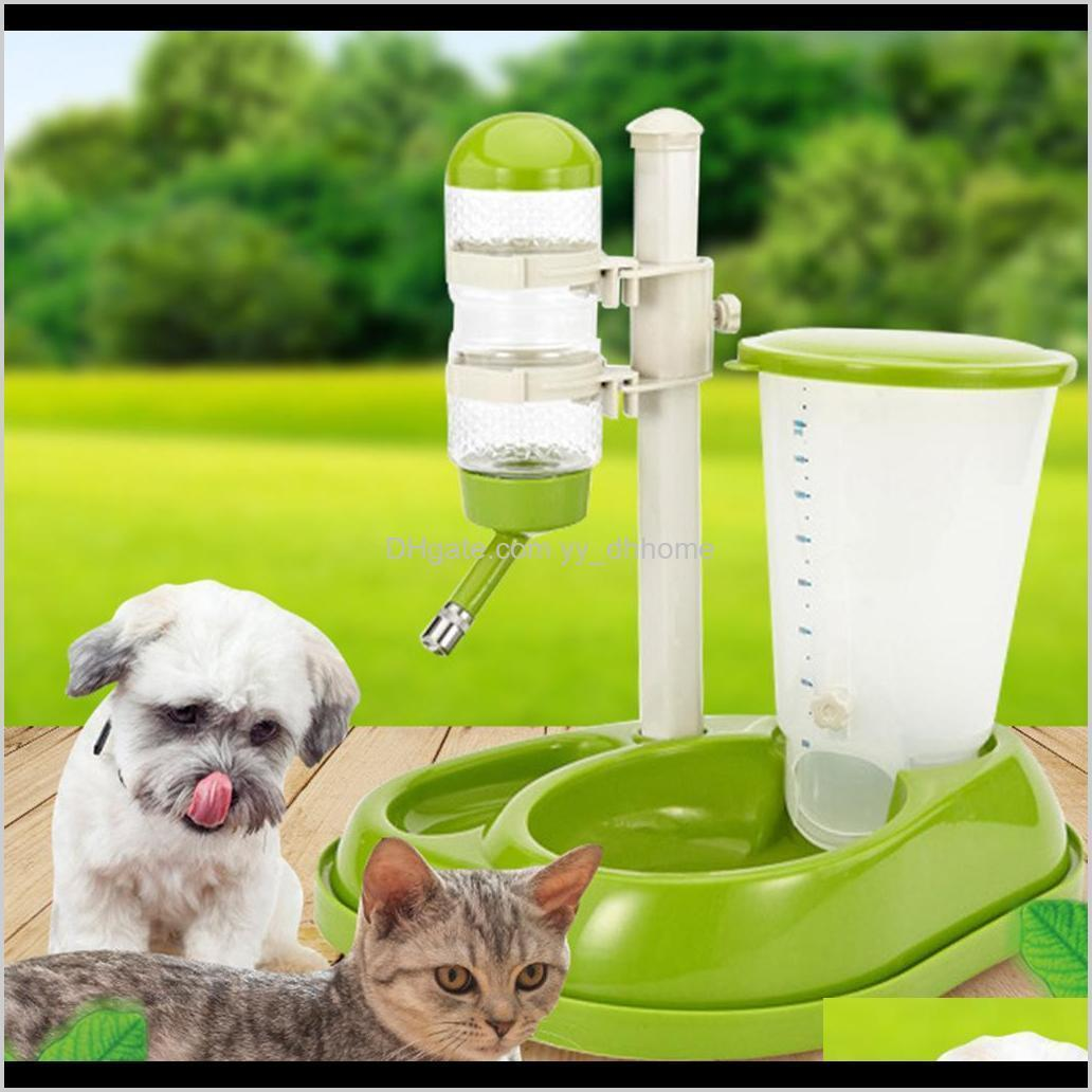 pet dog automatic water drinker feeder pet water bowls for cat dog