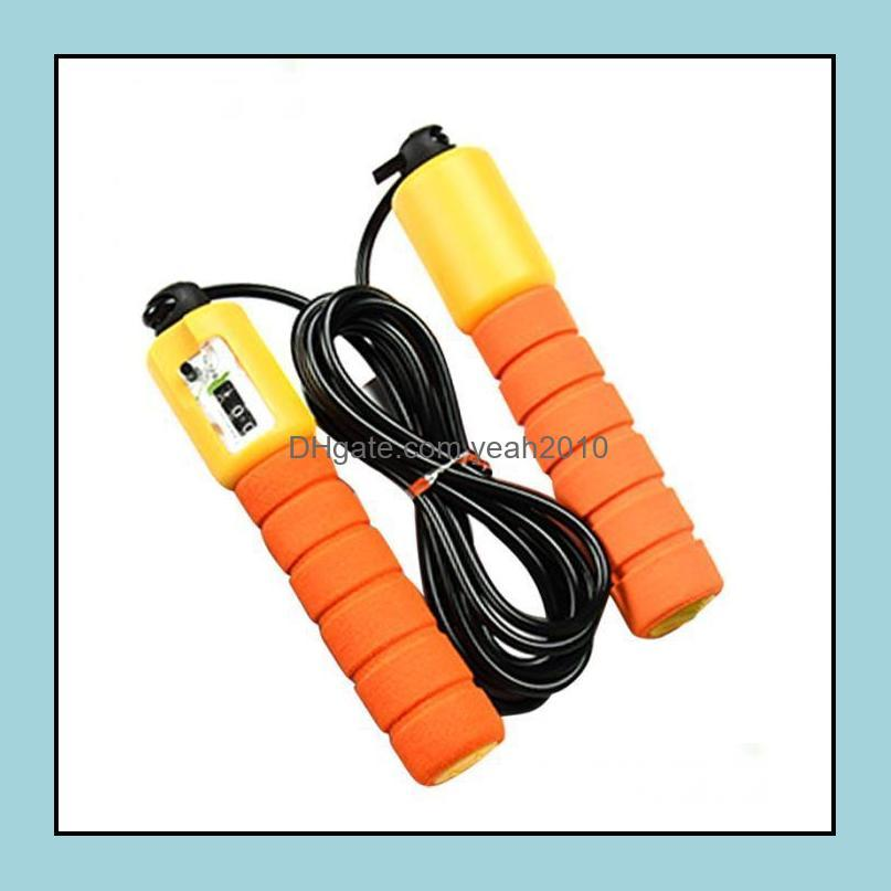 Jump Ropes Adjustable Fast Speed Counting Skip Rope Skipping Wire With Counter Sports Fitness