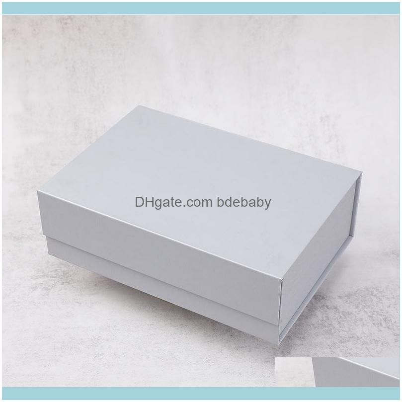 Holiday Beautiful Custom Bridesmaid Rigid Cardboard Paper Gifts Boxes Magnetic Lid Full Color Folding Flip Gift Packaging Box Wrap