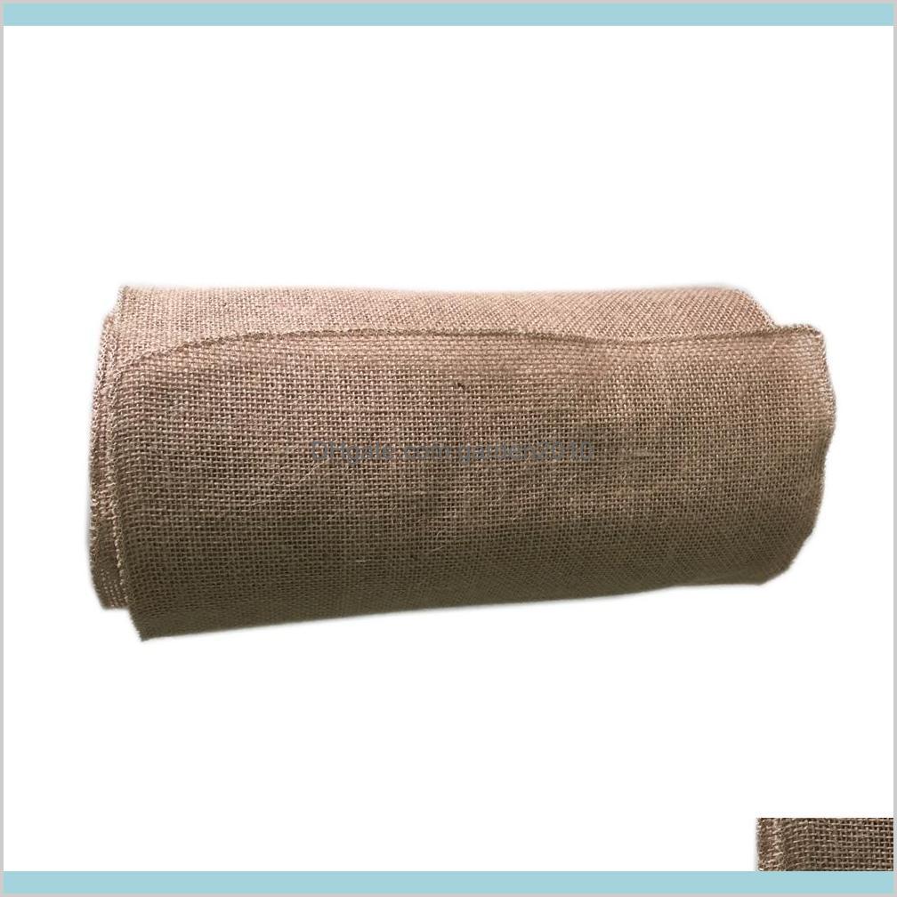 10M*33CM Hessian Jute Burlap Roll For
