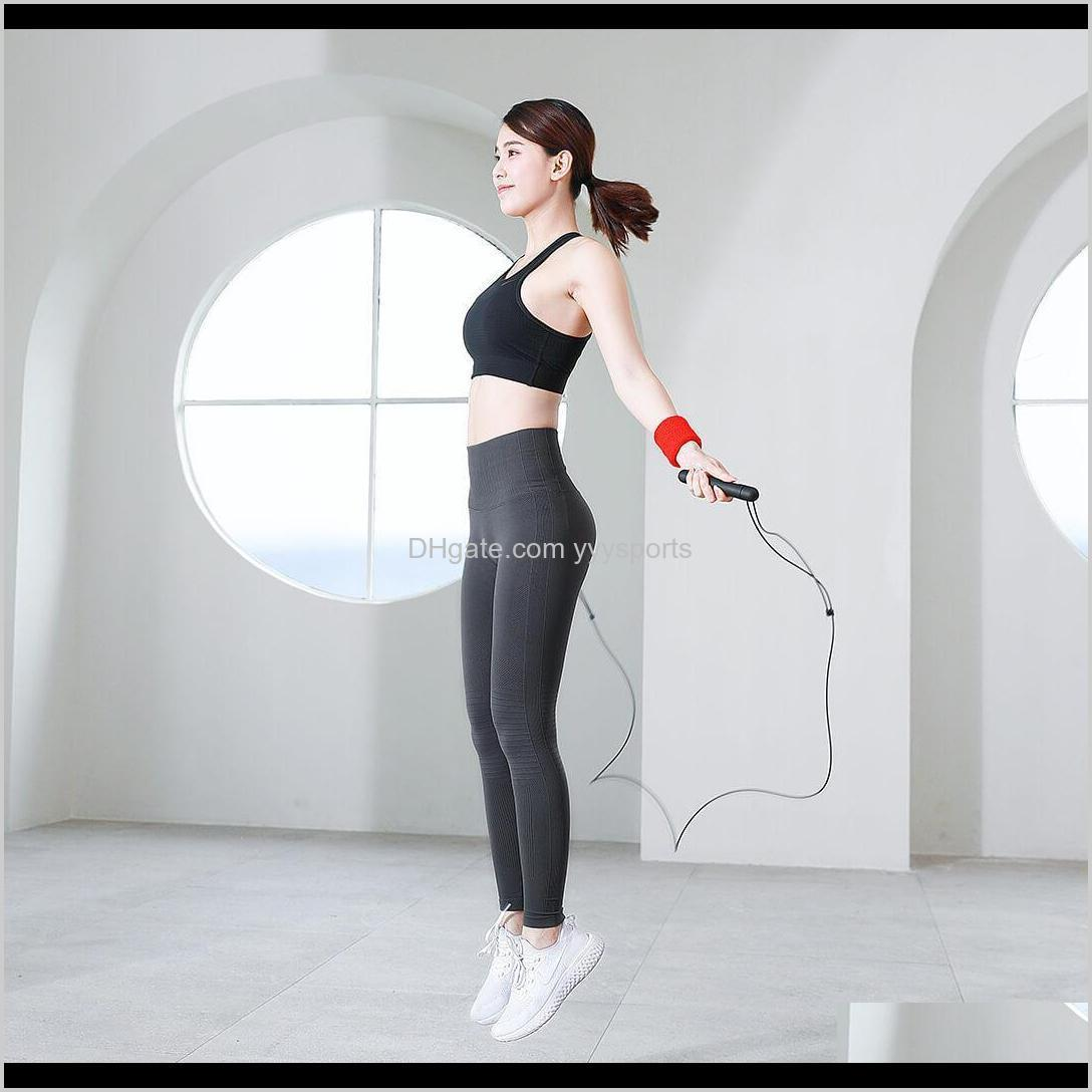 yunmai smart training jumping rope from mijia youpin app data record usb rechargeable adjustable wear resistant skipping rope