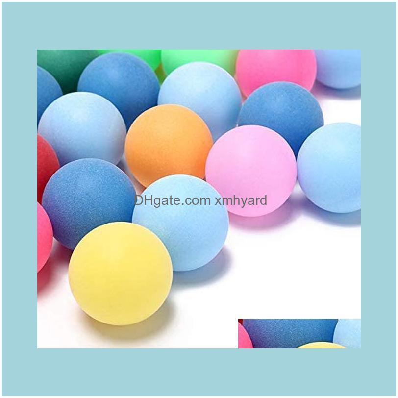 40mm Table Tennis Balls 2.4g Random Colours 50pcs For Games Outdoor Sport H7JP