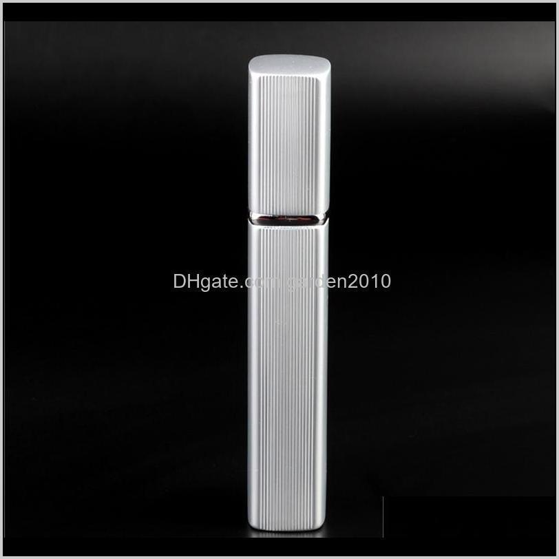 12ml mini spray perfume bottle travel refillable empty cosmetic container perfume bottle atomizer aluminum refillable bottles