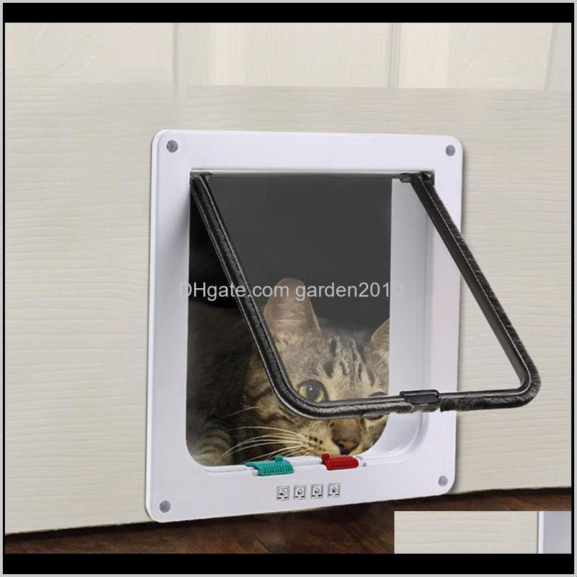 kimpets lockable dog cat pet security flap doors gates ramps universal for all size