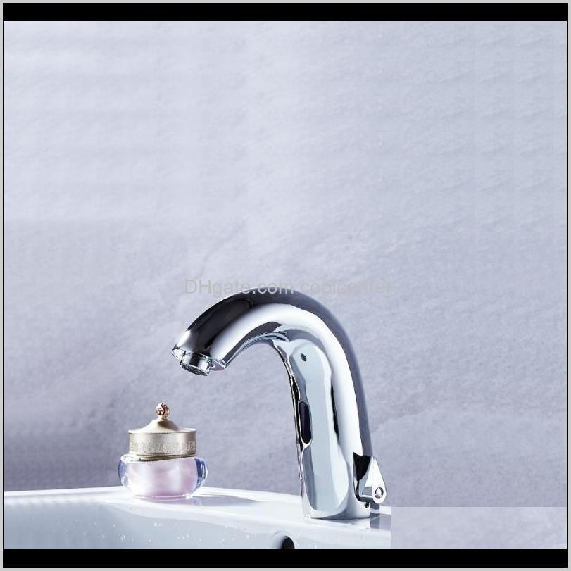 brass material chrome finishing color deck mounted dc and ac of 2 models power luxury automatic smart sense tap