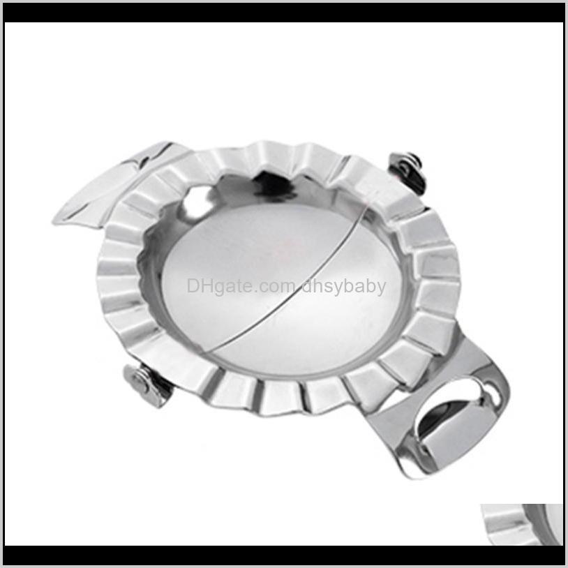 stainless steel dumpling wraper mould dough circle roller machine dumpling/pie maker pizza pastry cutters rolling cooking tools