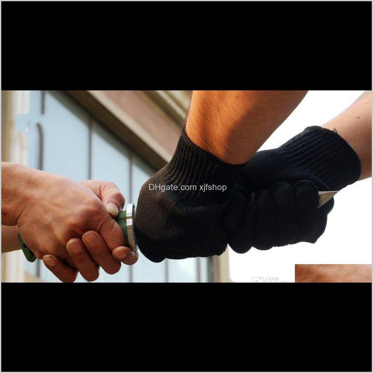 anti cutting gloves cut proof safety breathable outdoor working gloves hands protector