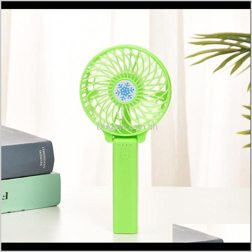rechargeable fan air cooler mini operated hand held 1200mah desk pocket usb portable office fan party favor owf1744