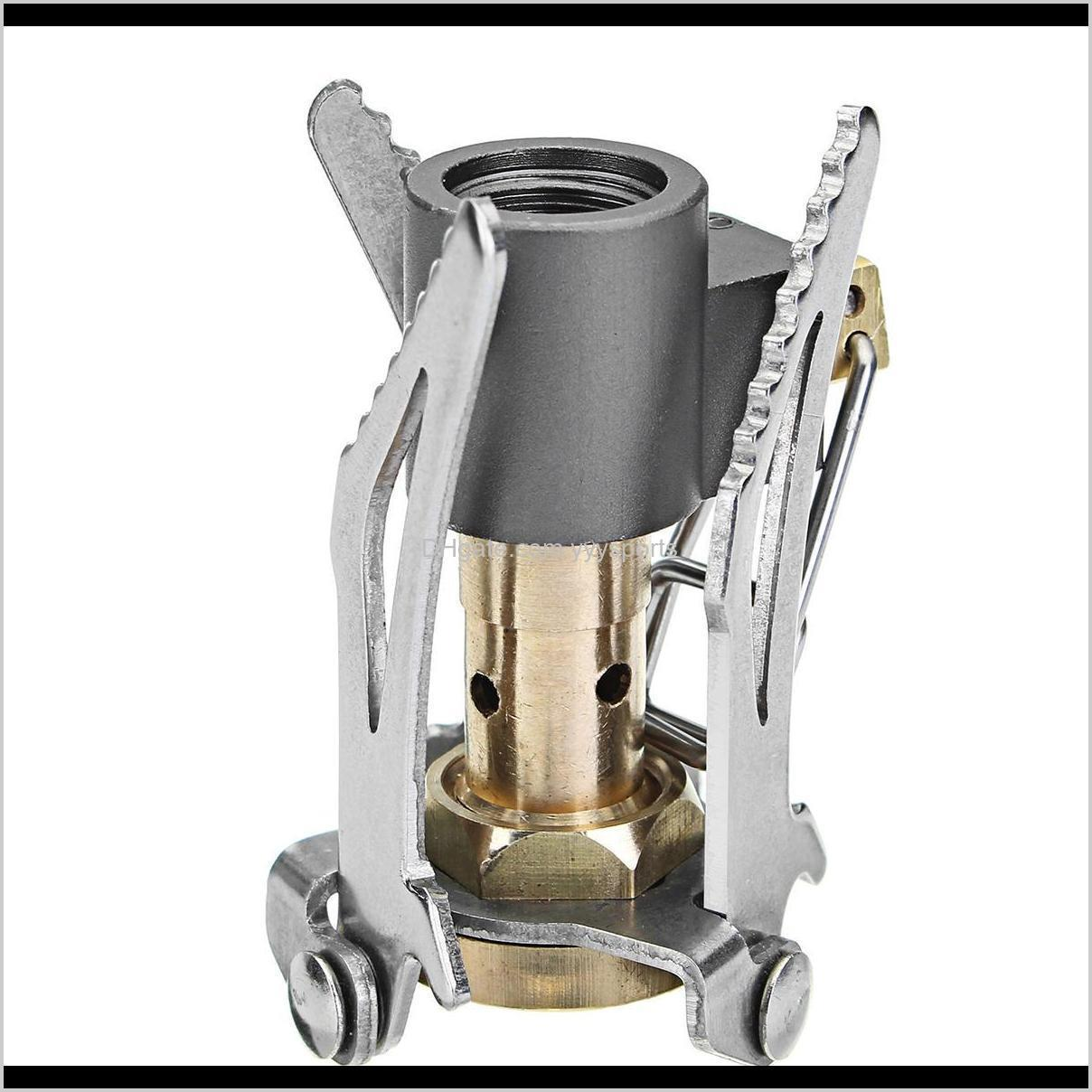 ultra-light and portable cooking stove 3000w portable ultralight mini camping picnic butane gas cooking furnace easy to carry outdoors