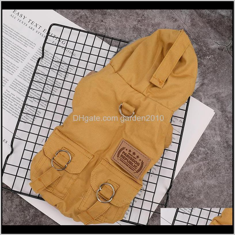 Fashion Pet Cats And Dogs Winter Warm Down Jacket Medium Large And Small Dog Hooded Clothes Lightweight Hoodie