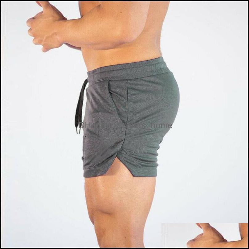 Running Shorts Men GYM Fitness Sport Workout Casual Jogging Training Sweat