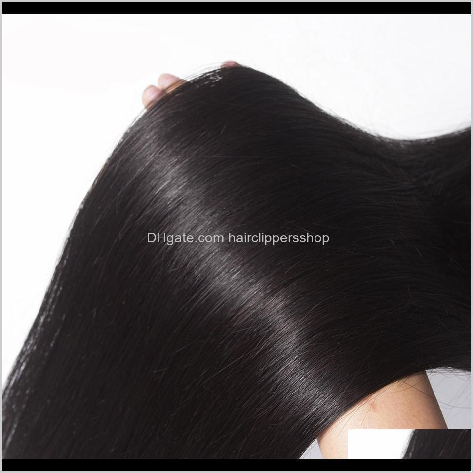 8a mink hair extensions wefts unprocessed brazilian human hair silky straight hair weave bundles 8-30 inhces natural color for women