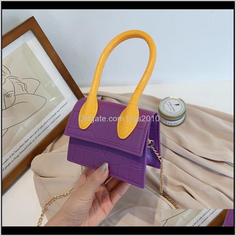 sweet princess accessories jelly children`s messenger purse girl fashion korean parent child bag wholesale cute little pocket gift