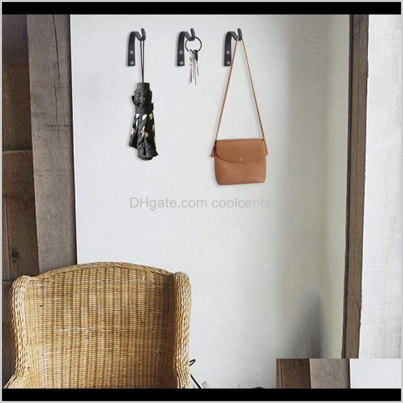 newly 10pcs/20pcs iron hanger wall hooks for hanging lantern planter coat rustic home decor xsd88