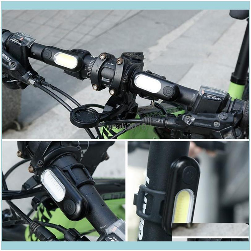 Wasafire Waterproof Bicycle Taillight Riding LED USB Chargeable Mountain Bike Headlight Cycling Light Tail-lamp Tools Lights