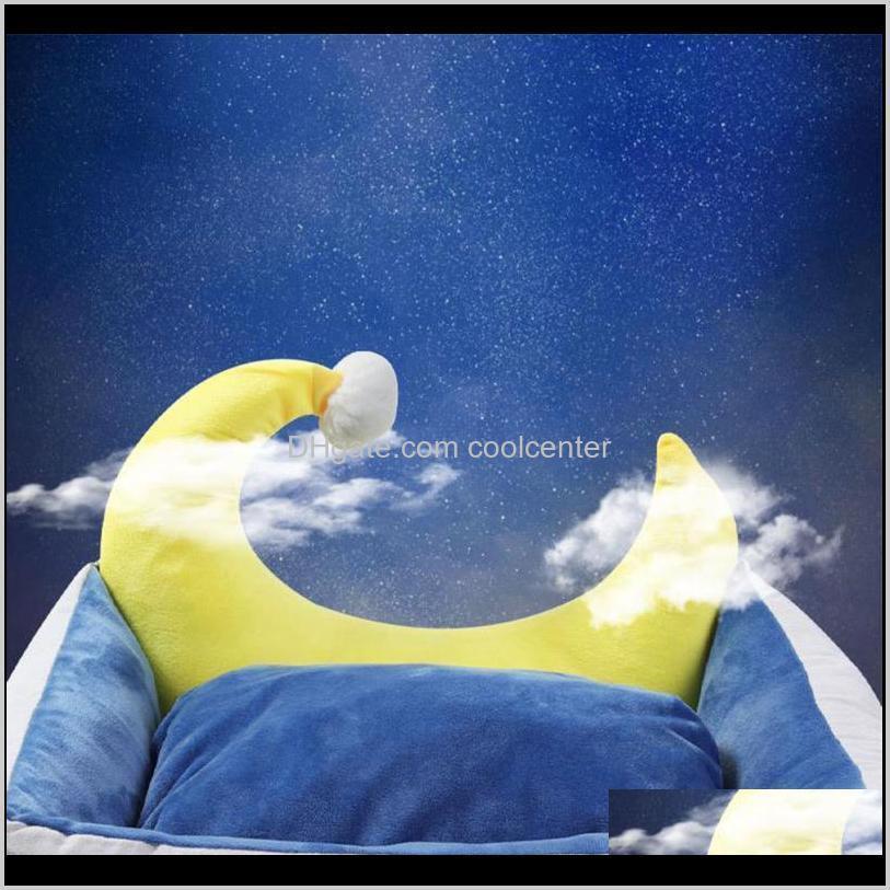 dog bed pet winter warm house lovely moon nest sleep mat soft sofa bed puppy kitten chihuahua cat house pet sleeping supplies