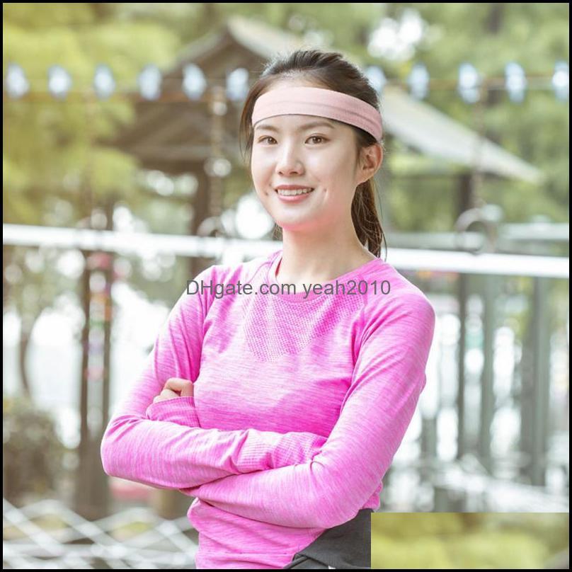 Fashion Nylon Sports Sweatband Yoga Hair Bands Head Sweat Headband Safety