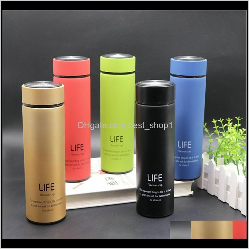17oz 500ml skinny tumbler stainless steel vacuum insulated water bottle travel coffee mug tea cup straight cup gift customizable dbc