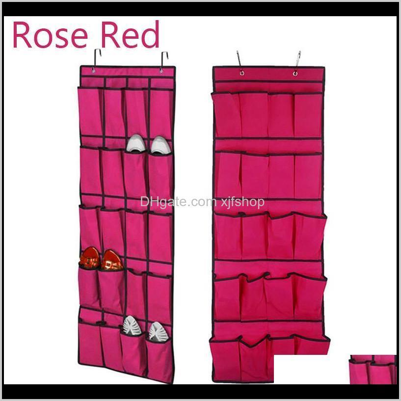 door storage shoe bag door hanging shoe door hanging organizer shoes closet holder with 20 bag multifunctional bags case