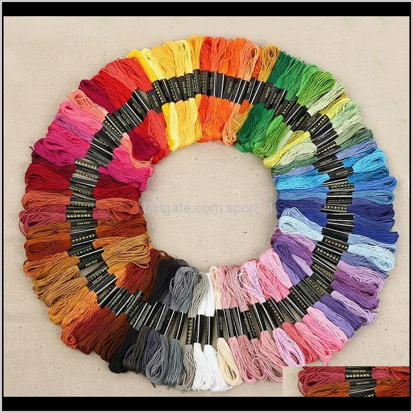 8.7 yard embroidery thread cross stitch thread floss cxc similar dmc 447 colors lz0903