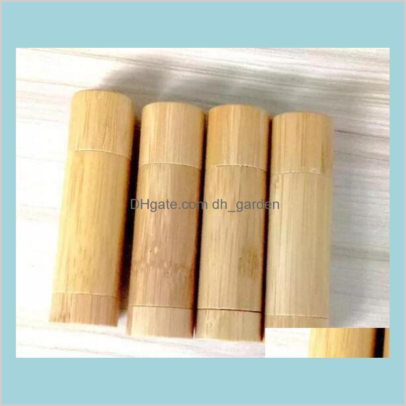 Bamboo DIY design empty lip gloss
