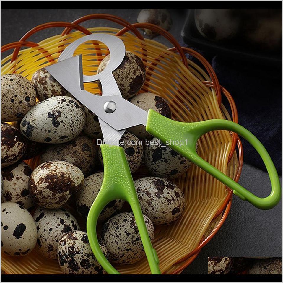 pigeon quail egg scissor stainless steel bird eggs cutter opener slicer kitchen housewife tool clipper accessoriy gadget convenience