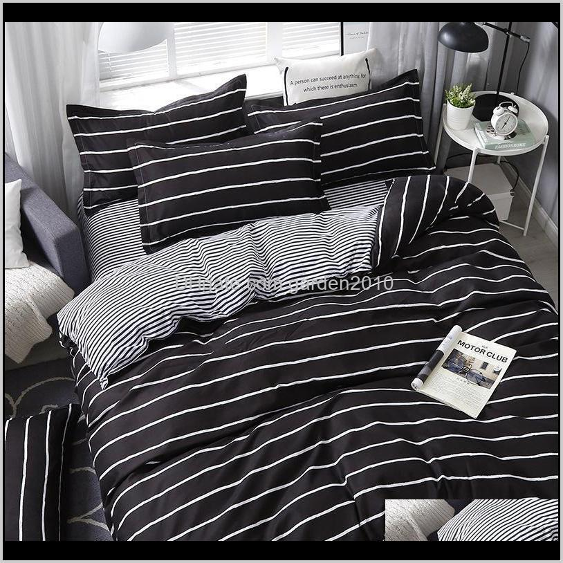four seasons home bedroom set sheet comforter bedding light luxury duvet cover bed sheet pillowcase fashion