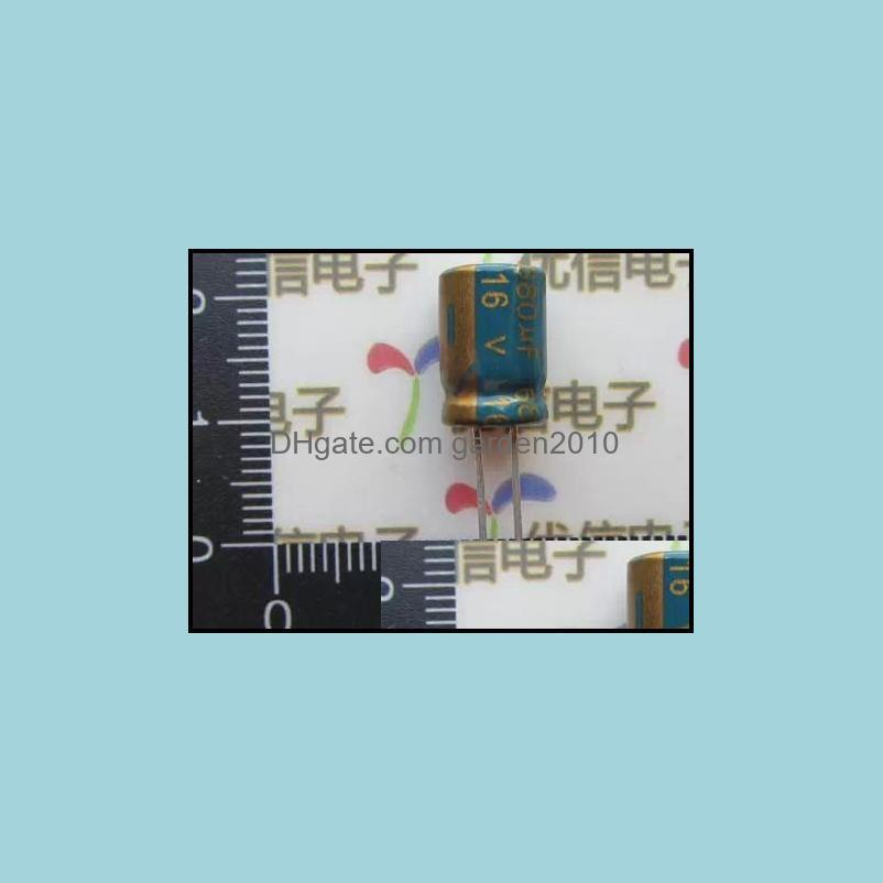 Wholesale-20 pcs Electrolytic Capacitors High Frequency