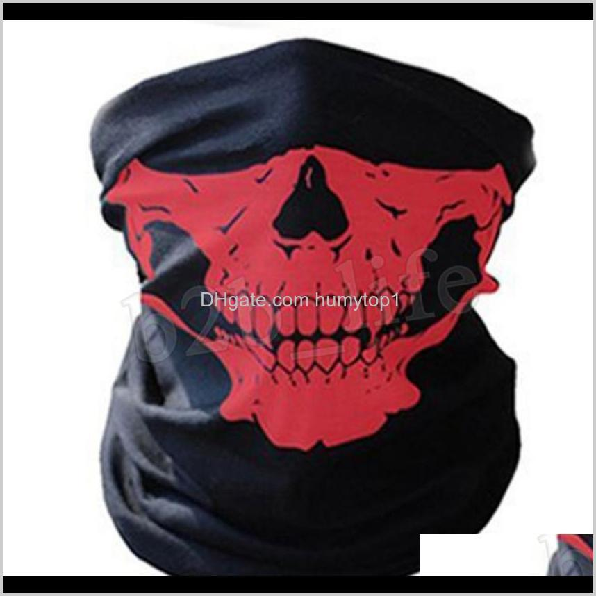 Skull Magic Turban Bandanas Skull Face
