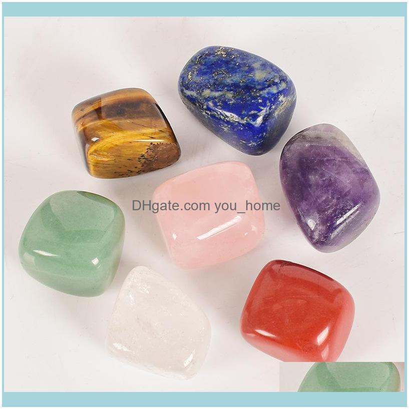 Natural Crystal Chakra Stone 7pcs Set