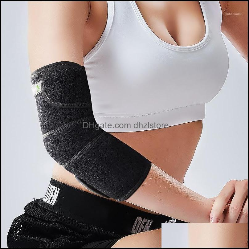 Outdoor Sports Compression Elbow Support Brace Pad Aid Strap Adjustable Elbow Guard Wrap Band Elastic Gym Sport1