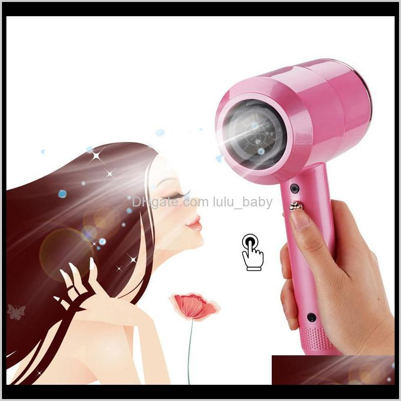 fashion designer hammer hair dryers 4 colors household hot and cold electric hair dryer tools 110-240v with us uk eu plug