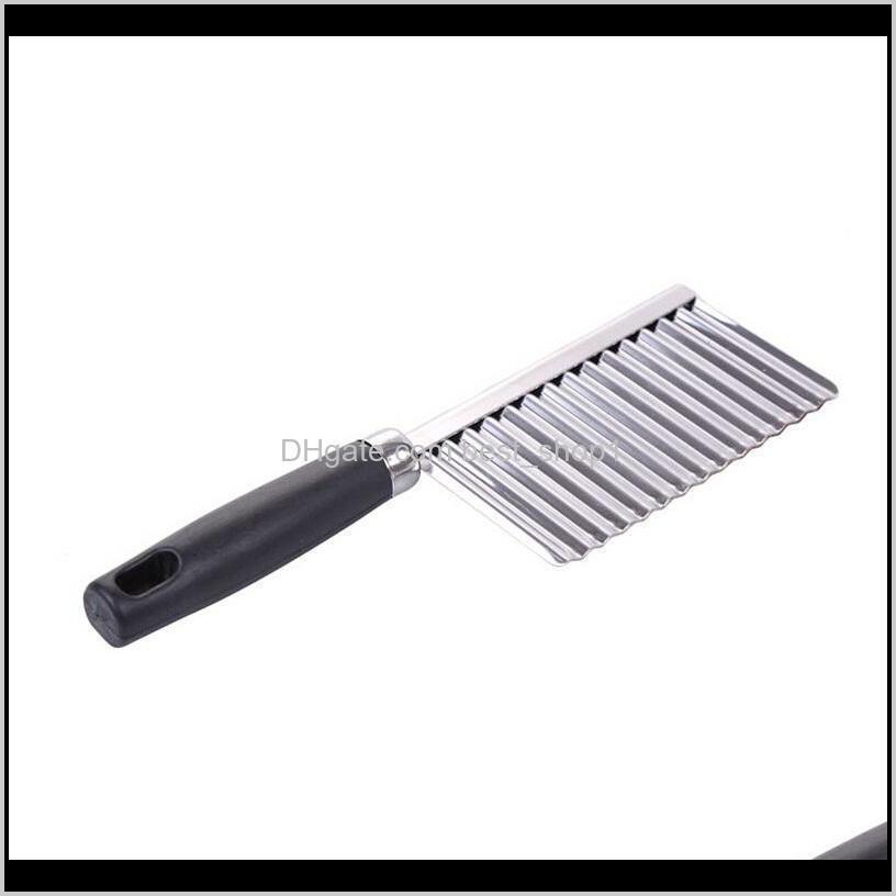vegetable cutter stainless steel potato wavy edged cutter knife gadget vegetable fruit potato cutter peeler cooking tools