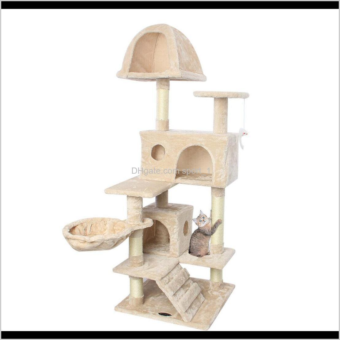 51`` cat tree scratching condo tower furniture scratch post pet house for kitten