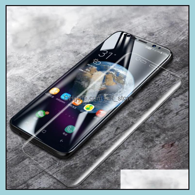 Real Curved Tempered Glass 3d Full Cover Screen Protector for Samsung Galaxy S10 S9 S8 S7 S6 edge Note 8 9