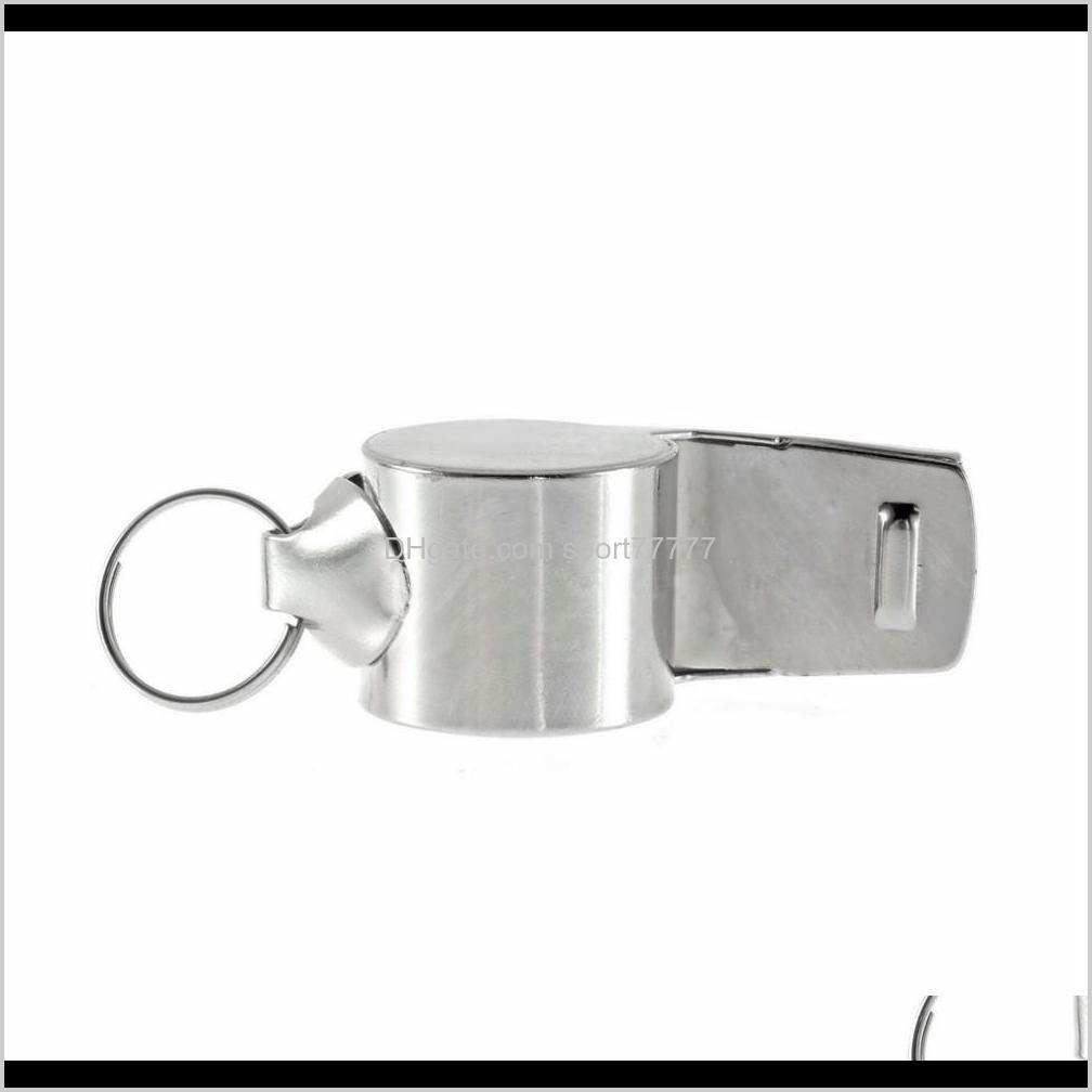 the new arrival metal whistle refereeing football training school rugby football sports gathering