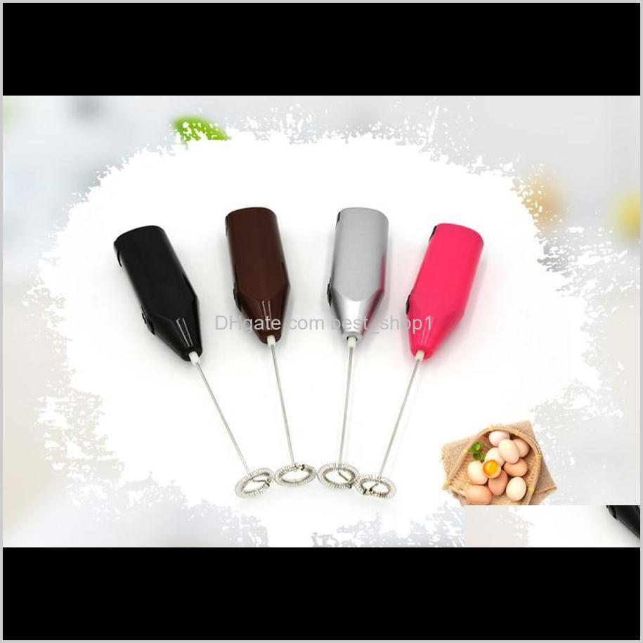coffee automatic electric milk frother foamer drink blender whisk mixer egg beater hand held kitchen stirrer cream shake mixer vt0823