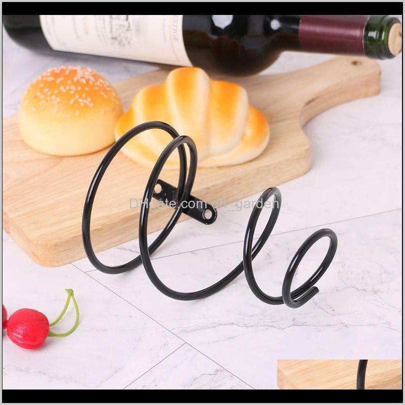 iron wall mounted wine bottle rack holder display shelf kitchen bar exhibition storage organizer home decor