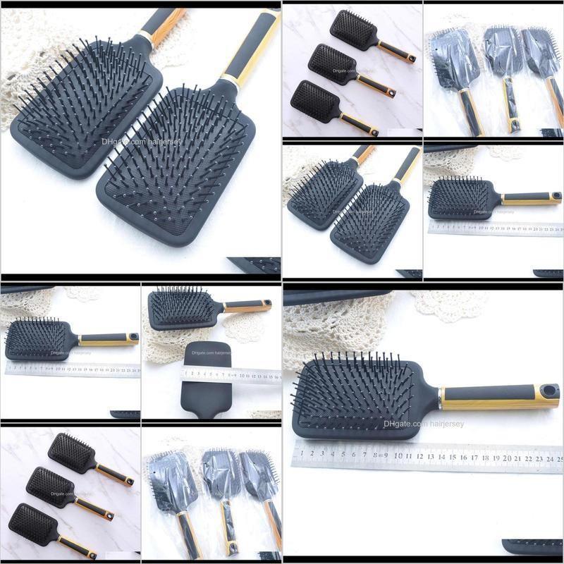dafang black elastic paint air bag hairdressing massage water transfer printing comb