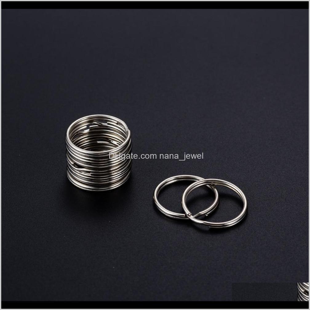 split key rings 1.5 x 20mm 200pcs silver 2018 newest arrival diy accessories