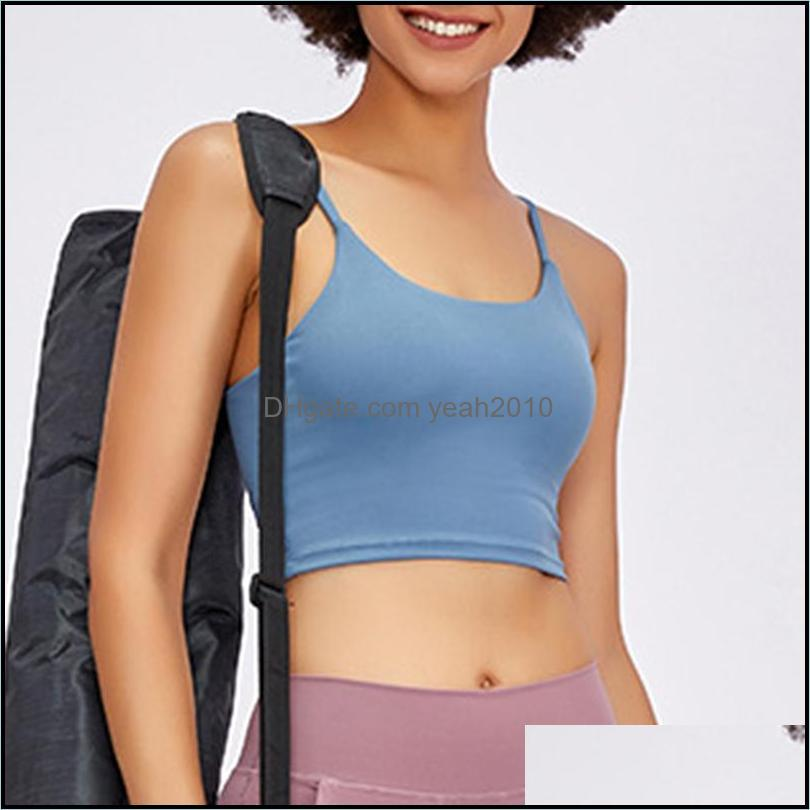 Yoga Outfits Women Padded Sports Bra Fitness Workout Running Shirts Stretch Gym Tank Top Sportswear Breathable Underwear For Female