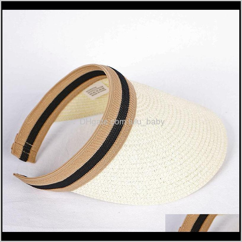 hot new simple popular fashion luxury designer summer outdoor beach braided casual hats baseball ball caps for women