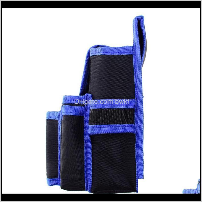 profeesional oxford cloth waterproof electrician waist tool belt bag backpack hardware hand repair tool pocket storage pouch