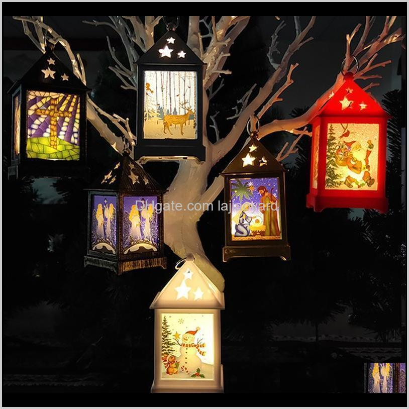 yomdid christmas decorations for home led christmas wind light led light painted gold silver christmas tree ornaments pendants swy