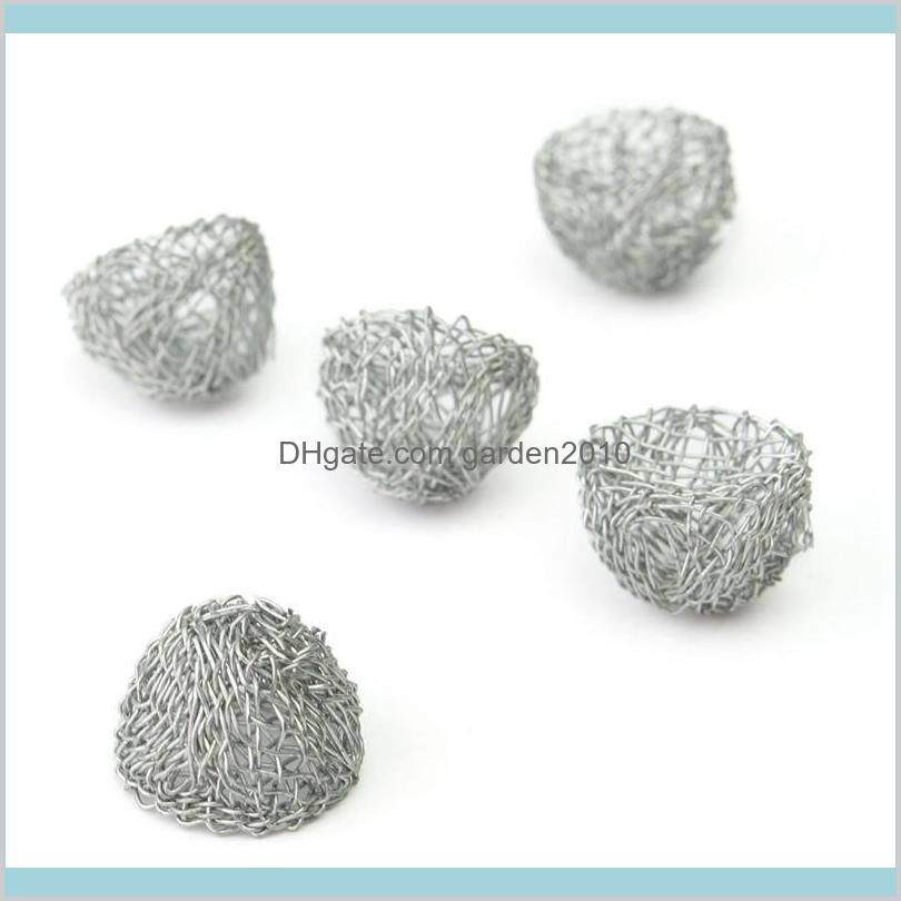 Wholesale- 1pcs/lot 13-20mm Silver Bowl Shape