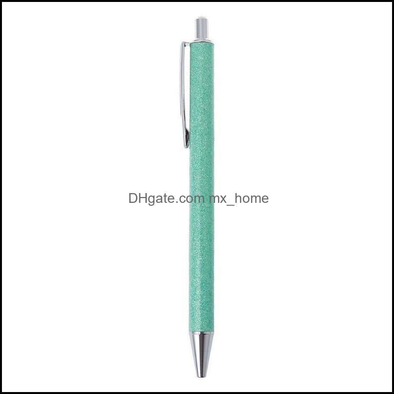 Luxury Bling Metal Ballpoint Pen 1.0mm Glitter Oil Flow Pens Office Supplies School Stationery