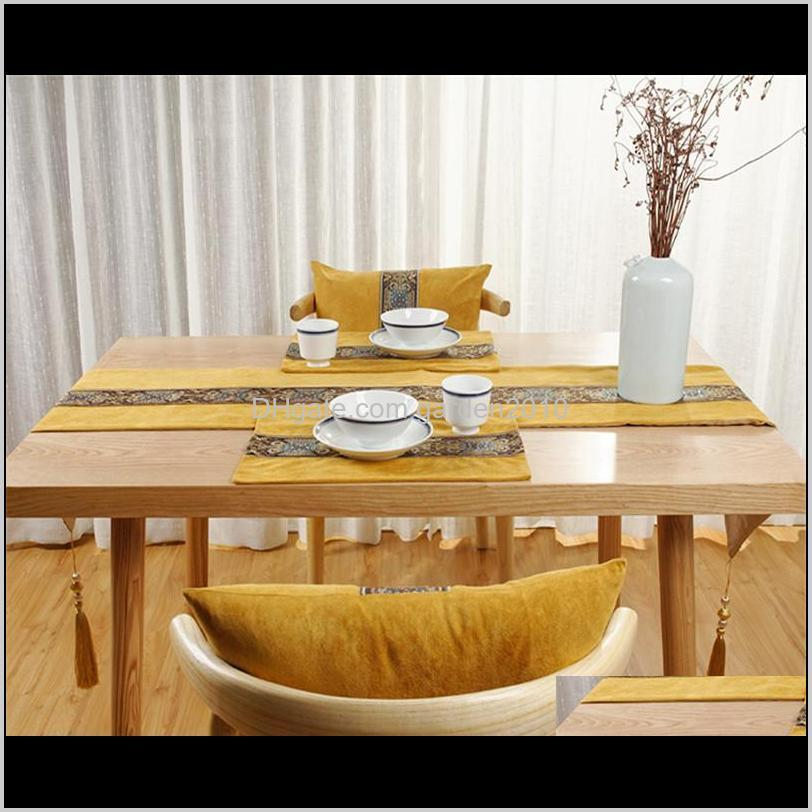 1pcs high quality satin table runner table decoration for home party wedding christmas decoration 7 colors available
