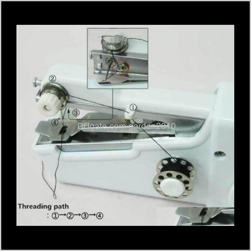 handy stitch handheld electric sewing machine mini portable home sewing quick table hand-held single stitch handmade diy tool cca10905
